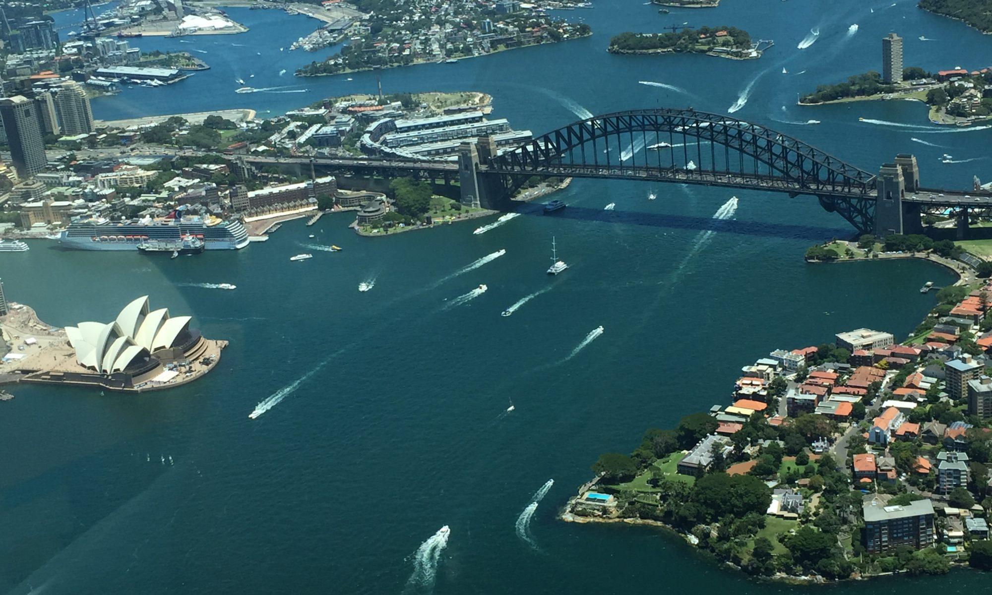 View of Sydney Harbour Bridge