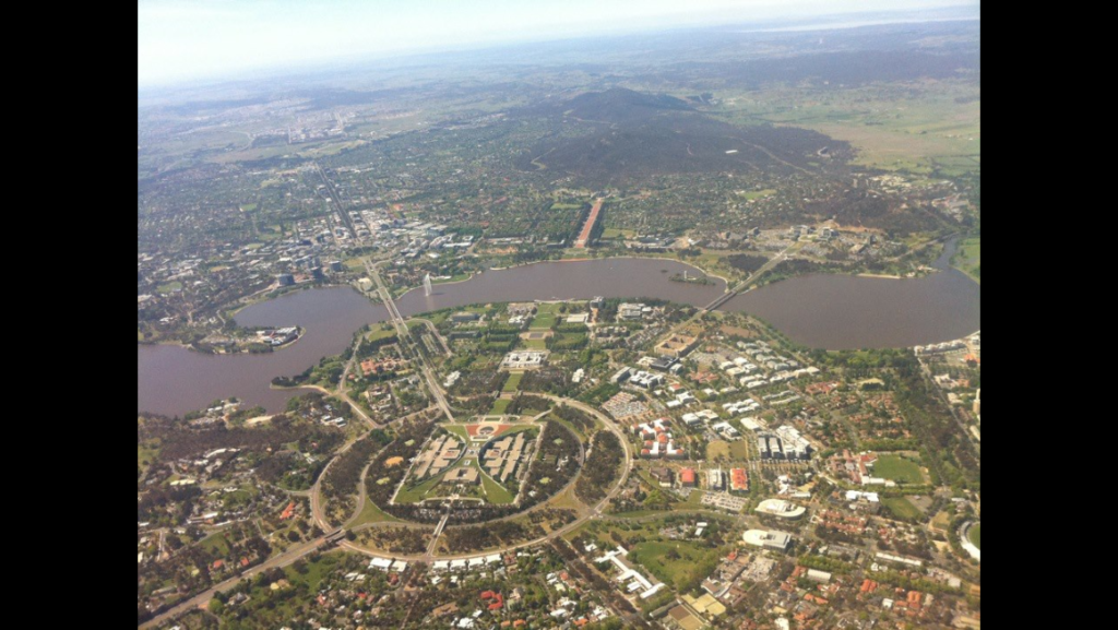 A departure out of Canberra Airport (YSCB)